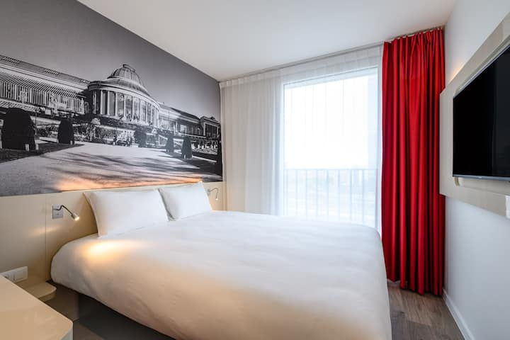 Room for two close from the Gare du Midi