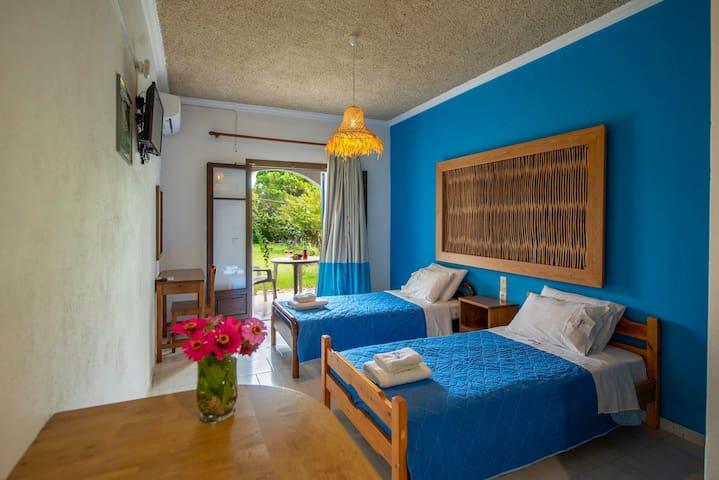 Villa Spyridoula Studio 13 on the Beach- bedroom