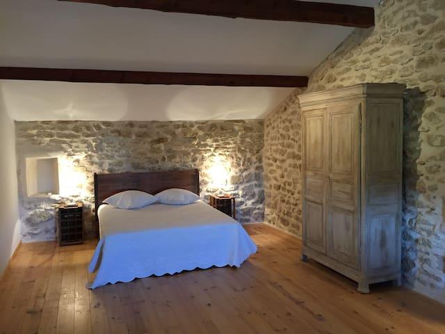 Chambre d'hôtes 4 personnes - Vacqueyras - Casa