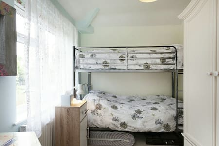 Small But Spacious & Light Room with Bunk Beds