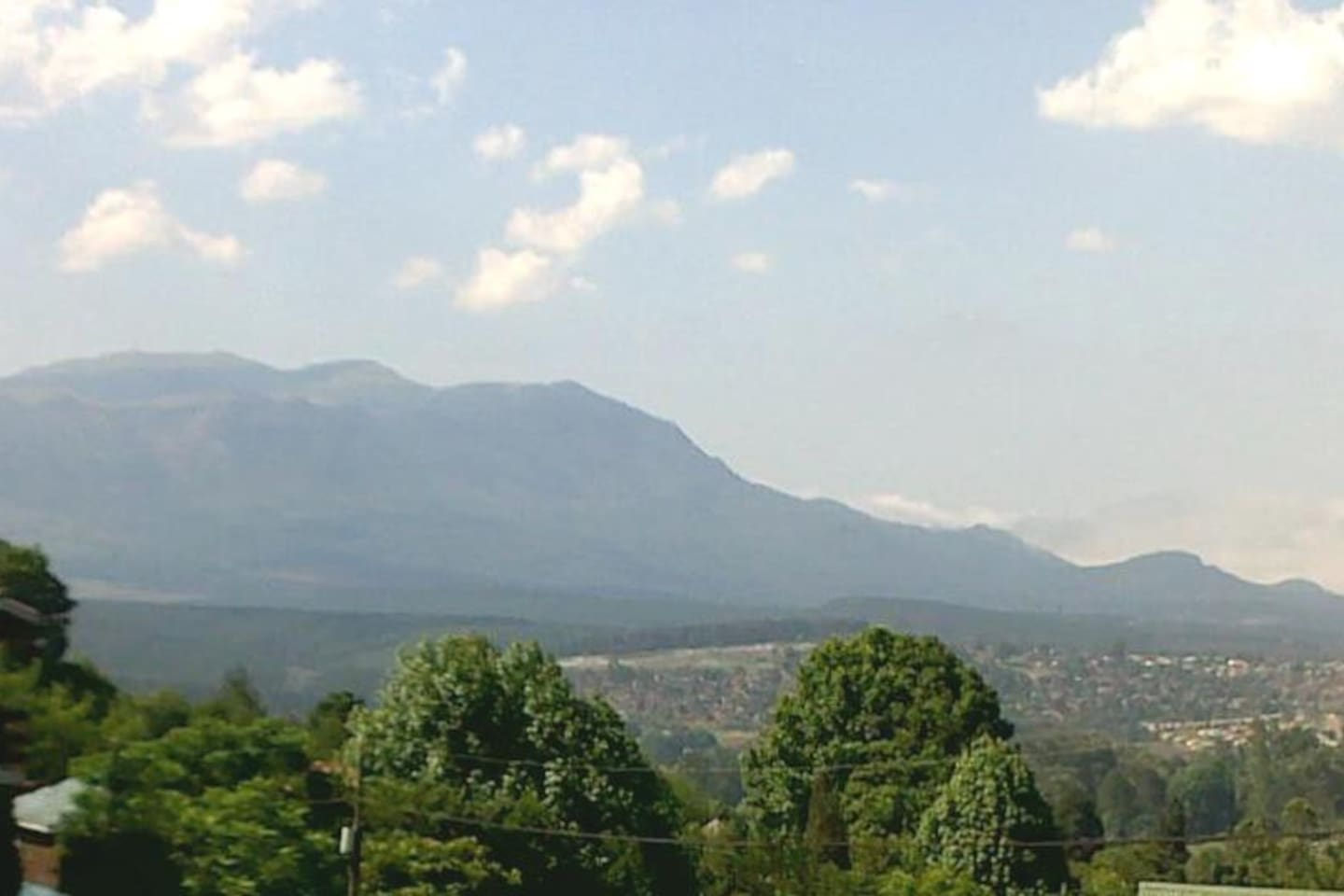 View of the surrounding mountains - from the patio