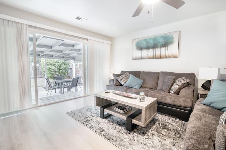 Modern home in Sacramento