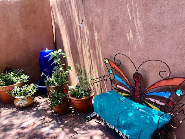 Entire Home*Walk to Plaza*Large Private Patio