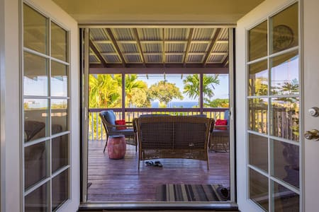Hamakua Scenic Hwy Ocean View Room1 - Pepeekeo - Bed & Breakfast