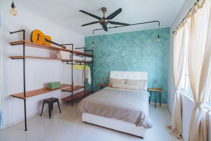 [d'Vogue]#1 - 3BR Comfy Townhouse @ Kampar - Kampar - Appartement
