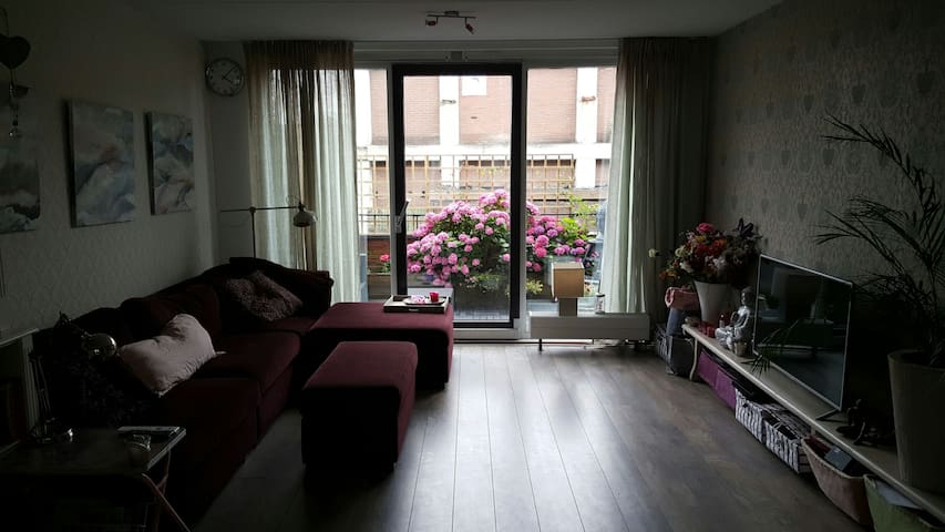Family home 20 minutes of Amsterdam CS. - 希爾弗瑟姆(Hilversum) - 獨棟