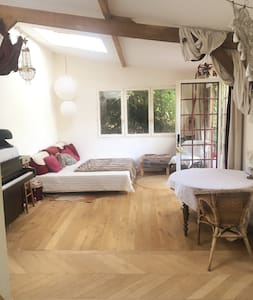 Warm Guest House for two