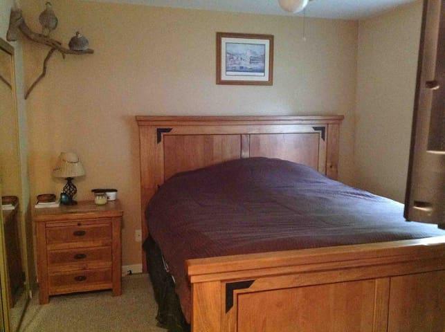 Montana Themed Master Bedroom