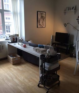 Cozy apartment in the center of Aalborg - Aalborg - Apartment