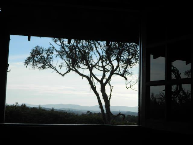Vista da janela da sala