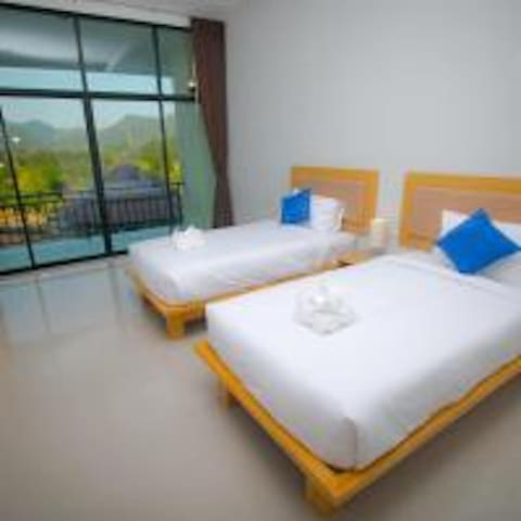 Ta Khun Mountain View Superior Twin Room