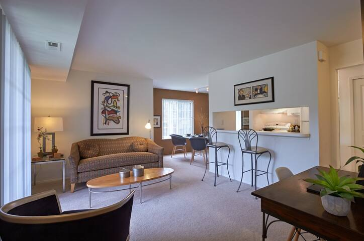 Relax in an apt of your own | 1BR in Novi