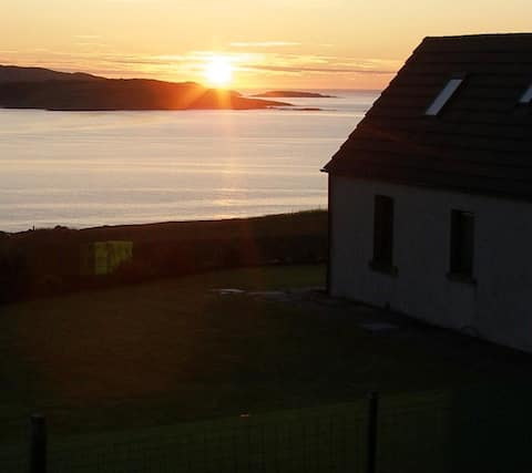 Muir Cala Cottage on the Kyle of Tongue - NC500