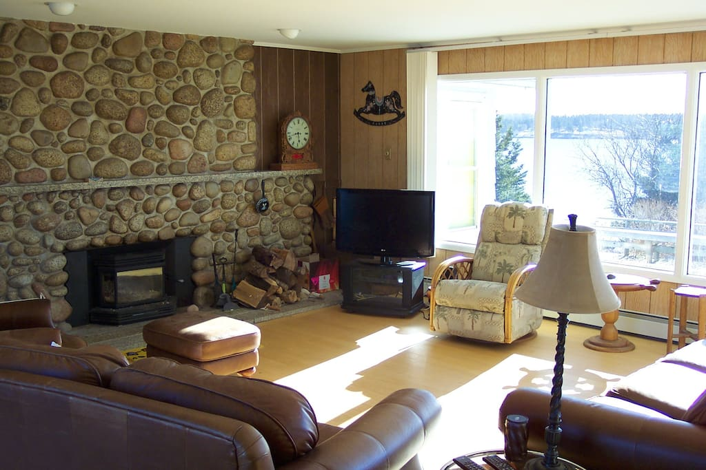 Beachstone Fireplace