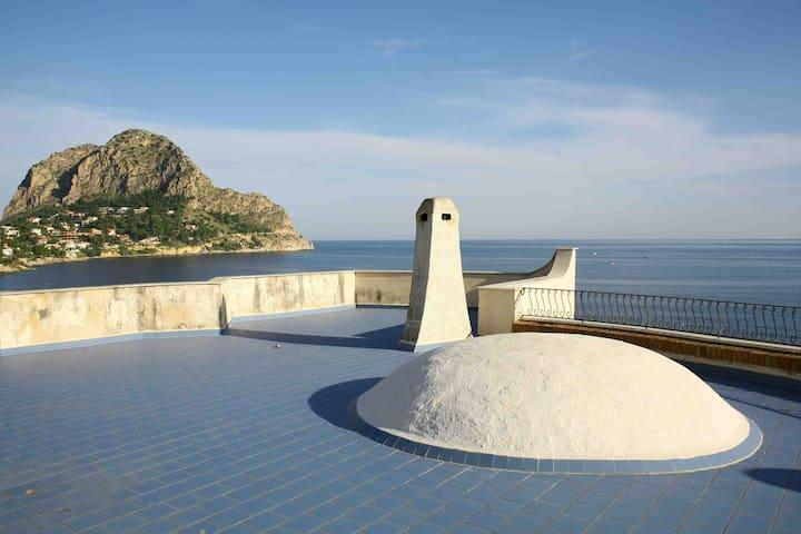 Una terrazza sul mare!