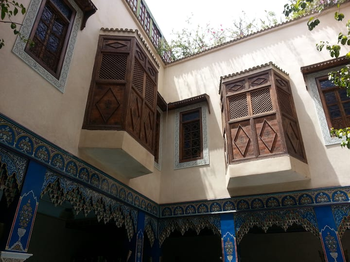 @ Near the big square Jama el Fnaa nice room Riad