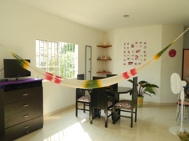 Private and single room - Santa Marta (Distrito Turístico Cultural E Histórico) - Appartement
