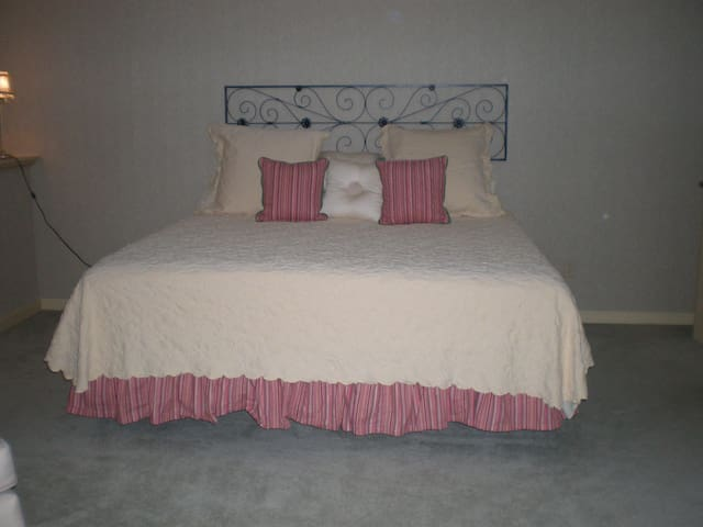 Comfortable and inviting lower level suite - Mishawaka - Apto. en complejo residencial