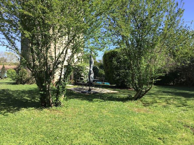 Un jardin reposant