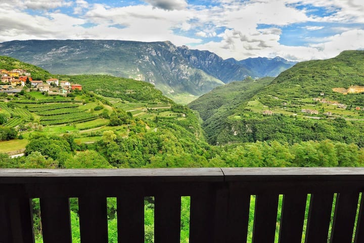Two bedroom flat with breathtaking view