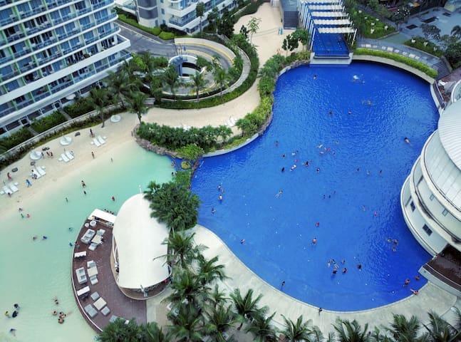 Azure Resort: facing amenity, WiFi! - Paranaque - Pis