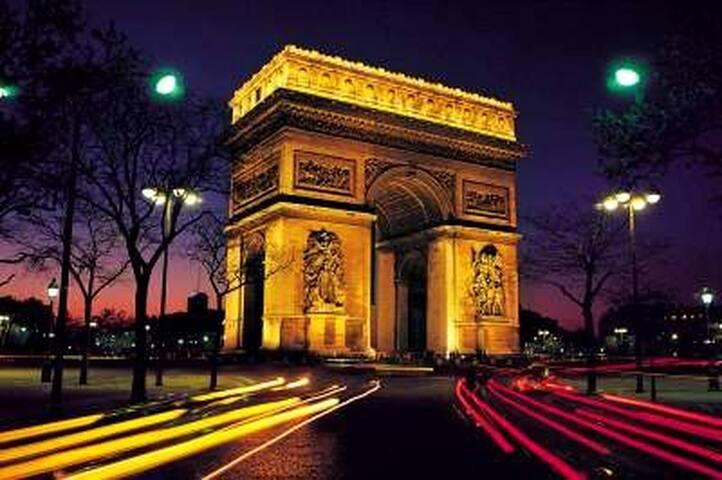 Studio avec Mezz. Arc de Triomphe! - Paris - Apartemen