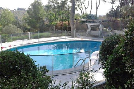 Loft con piscina, jardín, BBQ & playa a 5 min - Loft