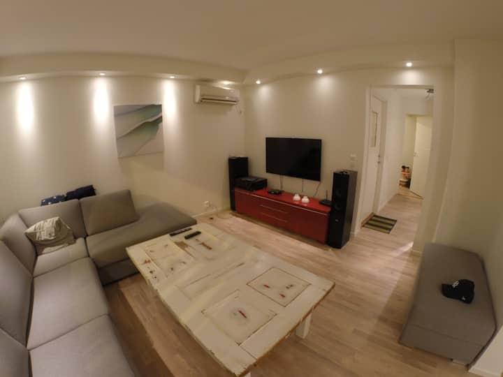 Moderne leilighet med unik beliggenhet