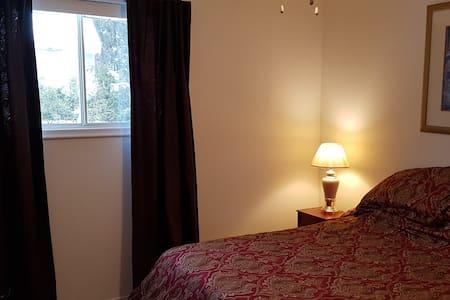 Cozy, bright, white bedroom
