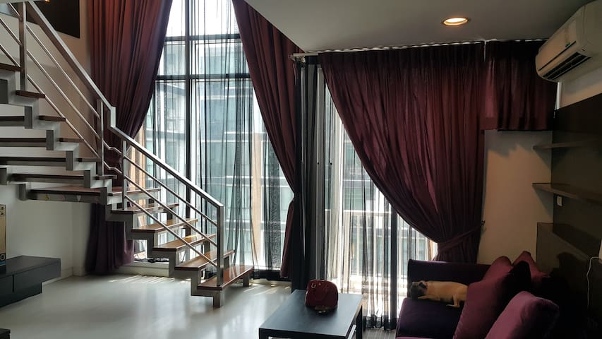 1 Bedroom Duplex ,Fully furnished. - Bangkok - Loft