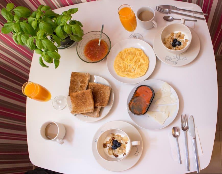 Desayuno-Breakfast