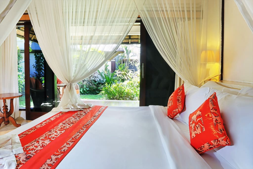Private bedroom beautifully decorated with ensuite.