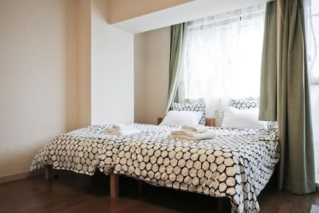Convenient Shinjuku Apt w free WiFi & bag storage! - Apartment