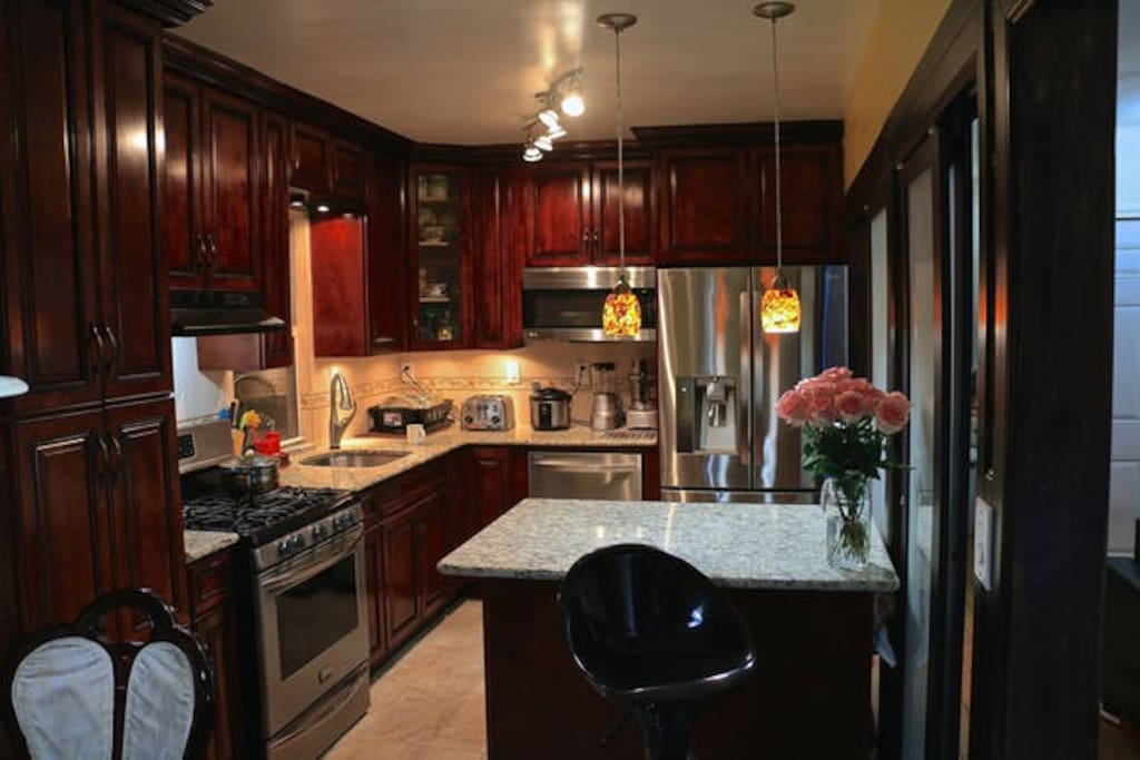 Shared Modern Fully Equipped Kitchen