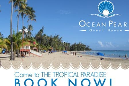 Beach Front Guest House #4 - Luquillo - Bed & Breakfast
