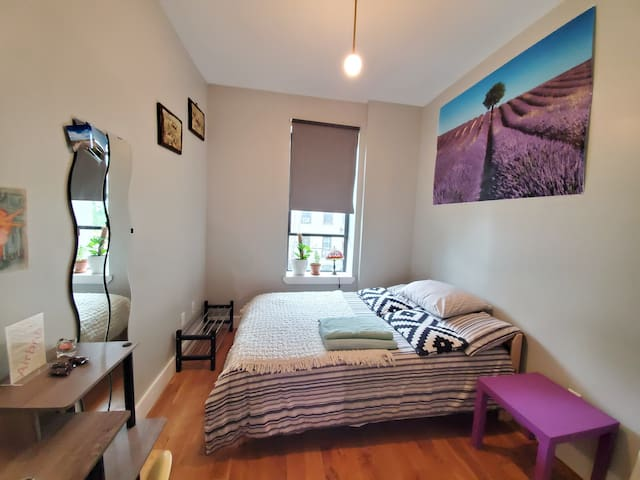 Bedroom in fully renovated apartment