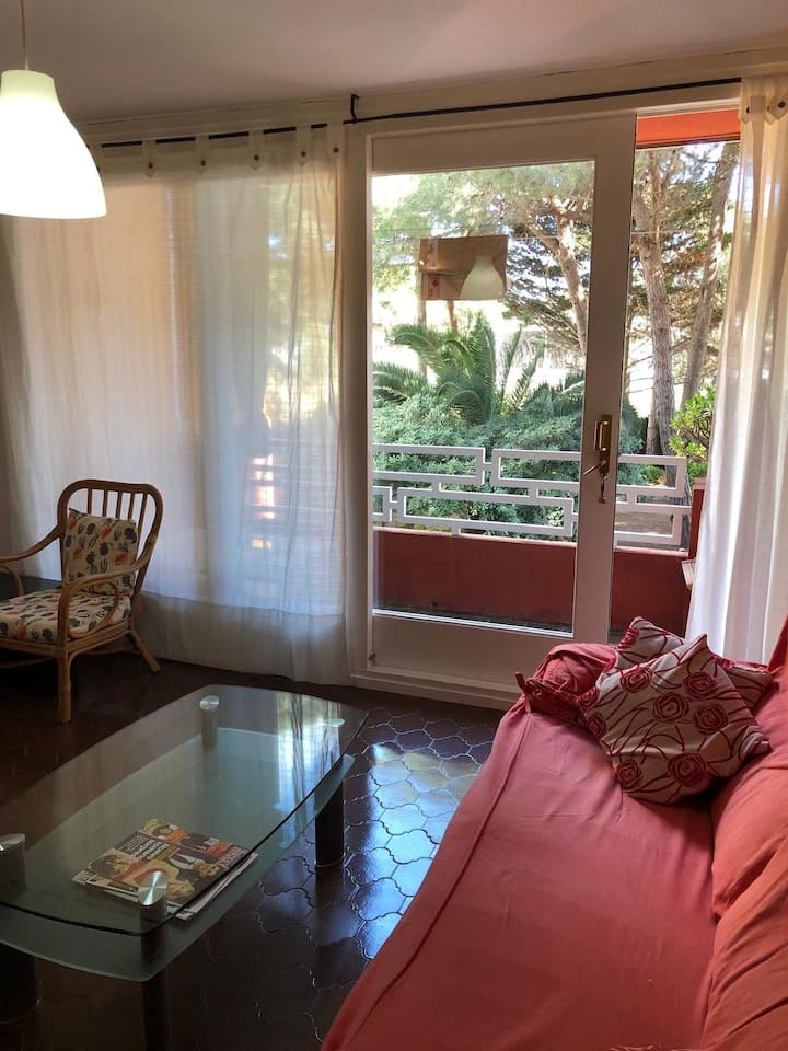 Beautiful apartment at the beach for 2-3 persons