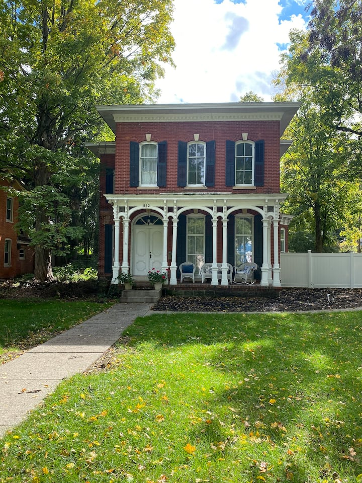 One of a Kind Historic Home in Niles, MI