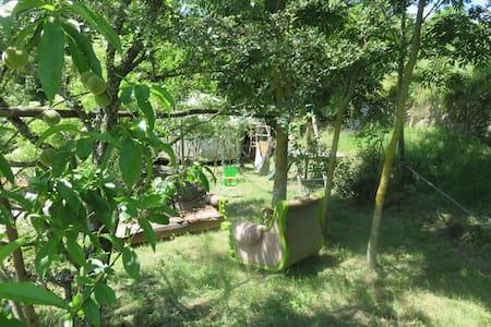 Maison en pierre idéale famille/enfants, Ardèche - Saint-Victor - Hus