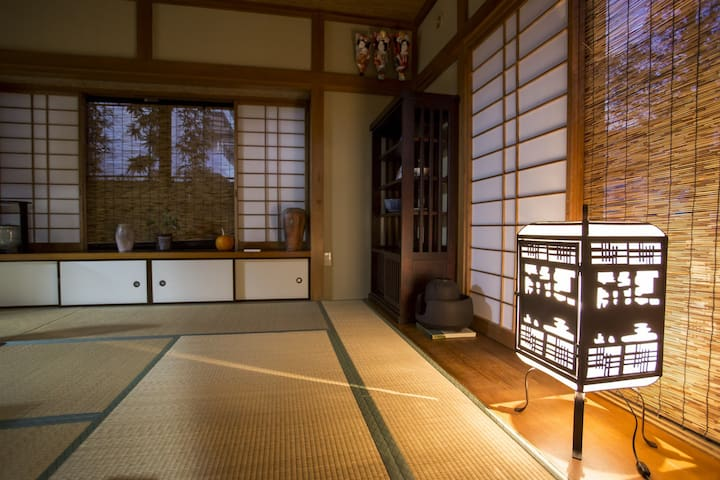 Very quiet Japanese style Tatami rooms.