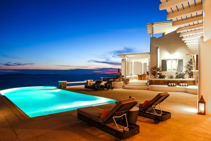 Villa Sunshine 6 bedroom luxury villa with breathtaking sea view and amazing private pool