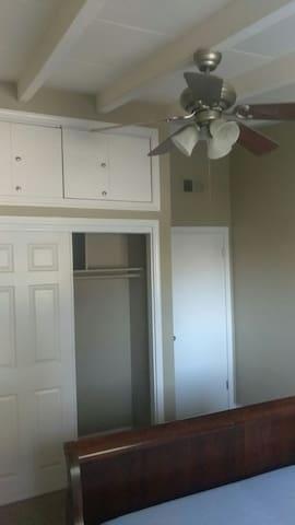 Closet in room