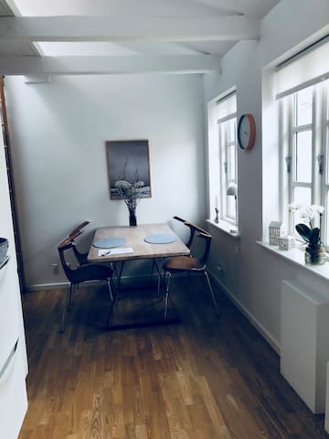 Bright, silent and cozy cityhouse in lovely Aarhus