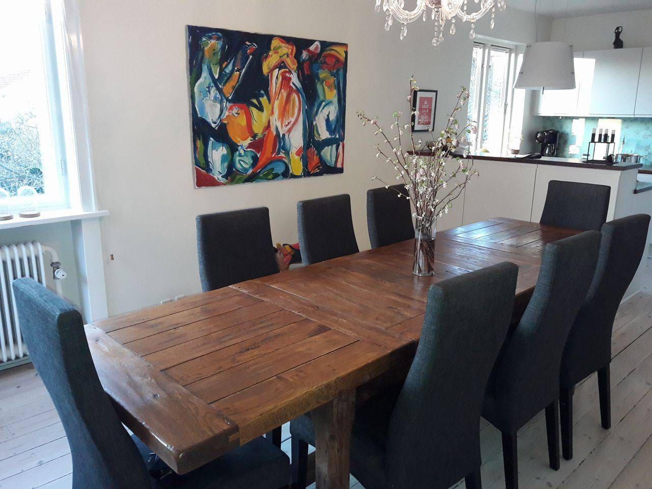 Dining room and kitchen/Køkken alrum