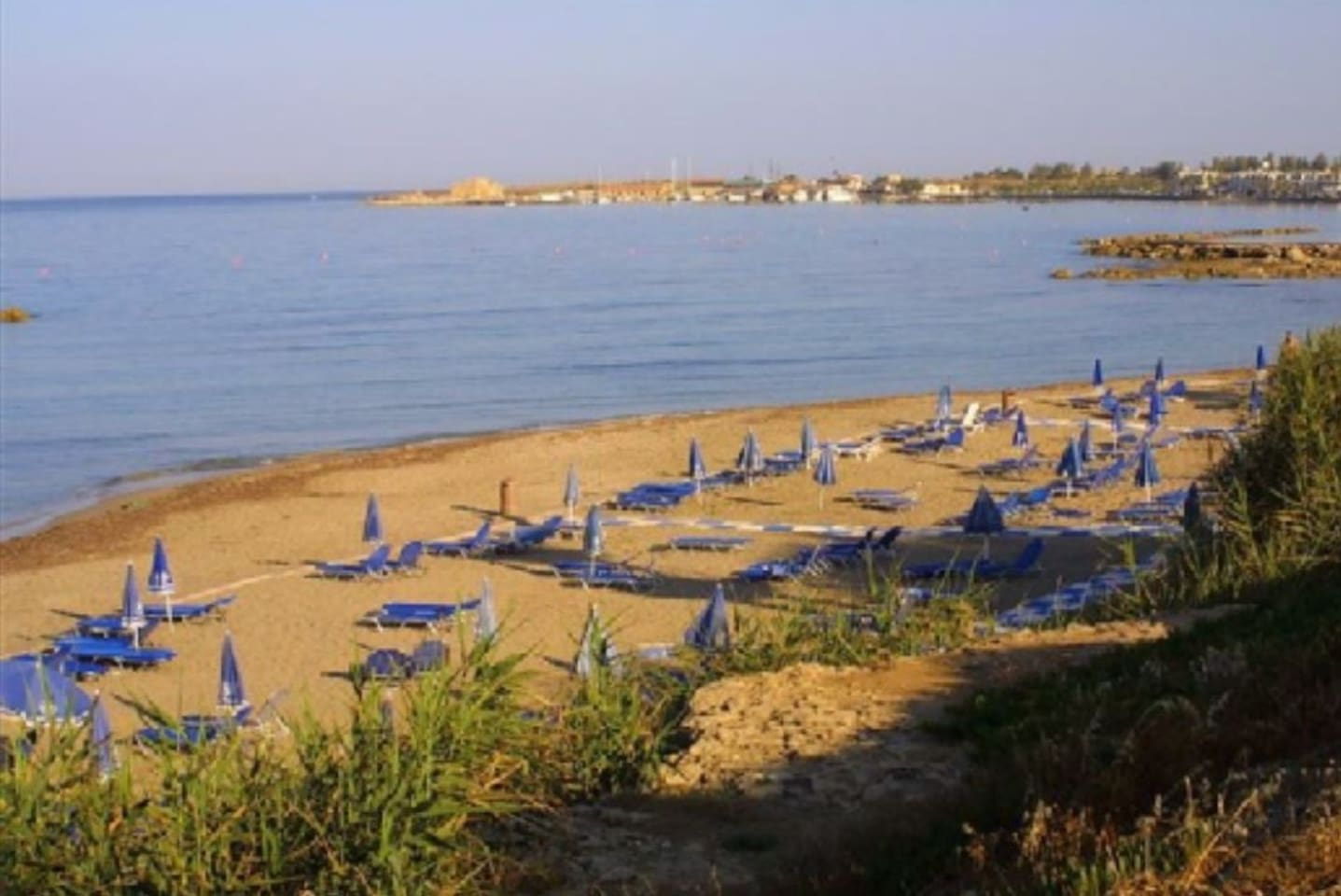 Municipal sandy beach of Paphos. Less than 150 meters from apartment.