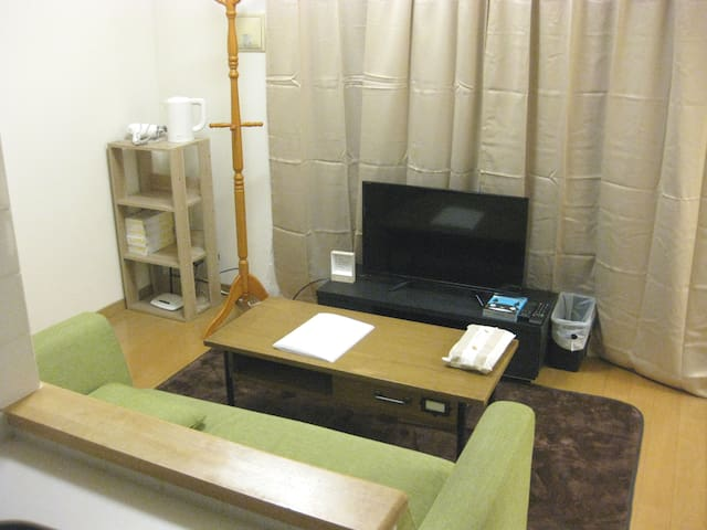 Luxury, clean, quiet and cozy room. Central Tokyo!