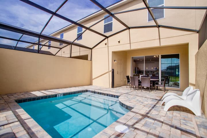 Breathtaking 5 Bd w/ Pool and Surf Park @ Solara Resort 2191