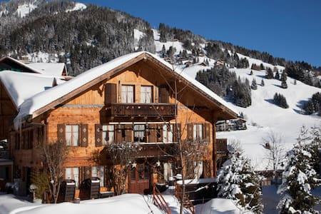 Chalet Beau-Site, typique chalet de montagne - Morgins - Rumah