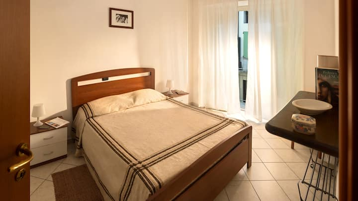 Large three-room apartment in the center Dogliani