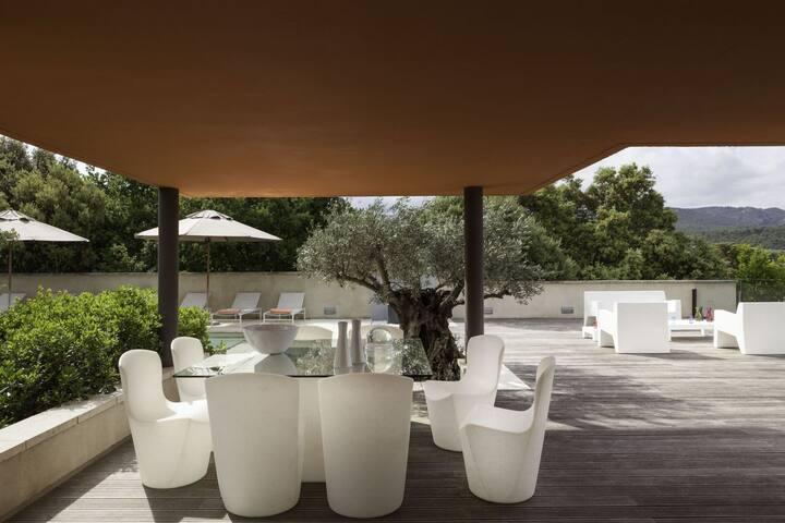 Villas de luxe avec piscine privée 1315 - Venasque - House